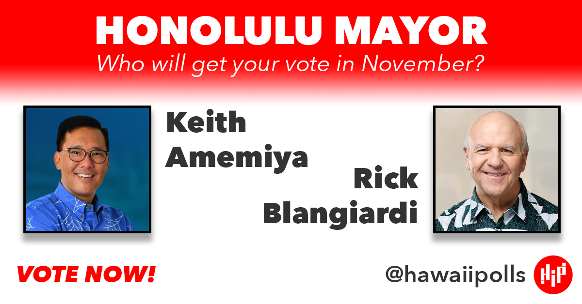 Honolulu Mayor Poll
